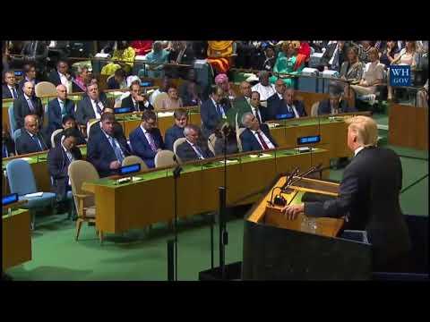 Kim Jung Rocket Man: President Trump UN speech