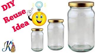 Easy Best DIY craft idea   Best use of waste Jar craft ideas   #DIY art and crafts   Waste Jar reuse