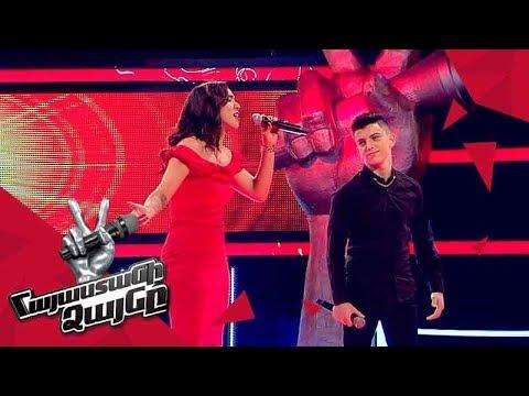 Ivonne vs Karen sing 'Lagrimas Negras/Ով սիրուն սիրուն' – Battle – The Voice of Armenia – Season 4
