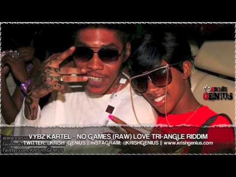 Vybz Kartel - No Games (Raw) Love Tri-Angle Riddim - Sept 2013