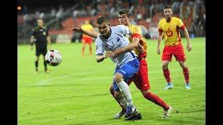 MKS Kluczbork - Znicz Pruszków, skrót meczu, 5 sierpnia 2017