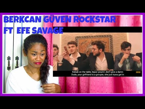 BERKCAN GÜVEN ROCKSTAR FT  EFE SAVAGE Post Malone Rockstar Arabesque Cover| Reaction