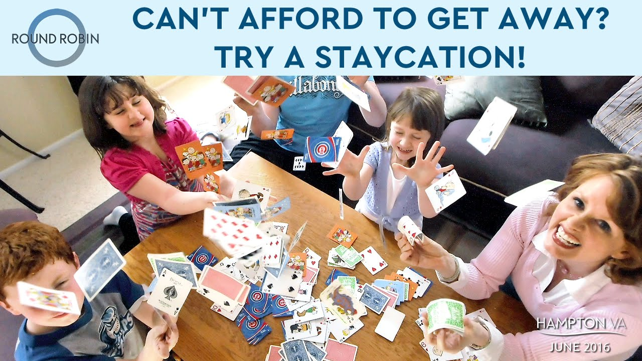 Can 39 t afford to go away on vacation try a staycation for Where can i go on vacation