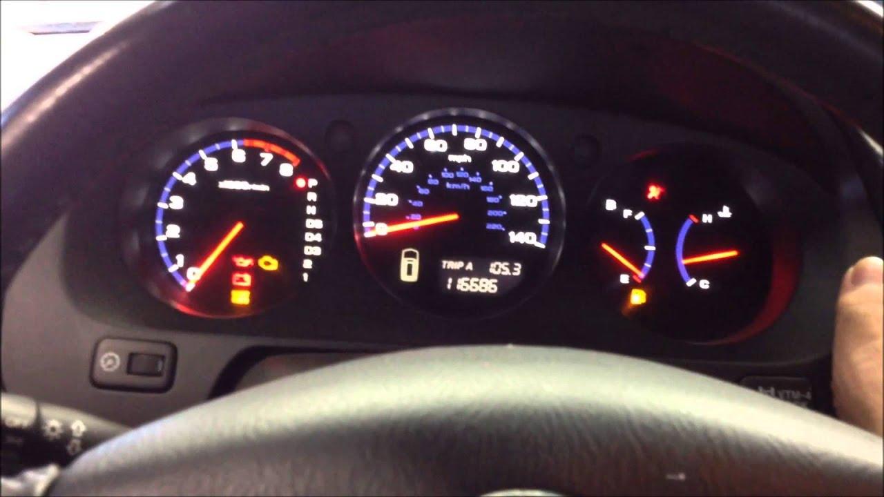 Maxresdefault on 2003 Acura Tl Warning Lights