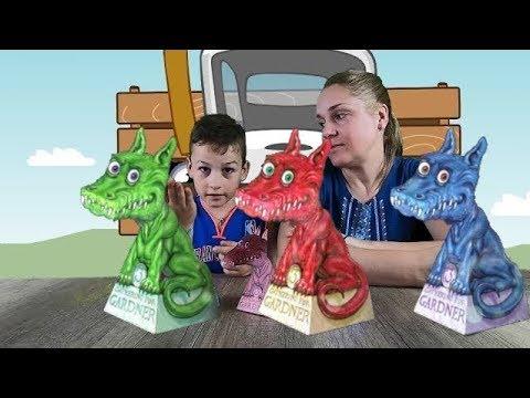 DIY - Дракон, который следит за тобой - иллюзия из бумаги! Делаю с мамой за 5 минут!   origami