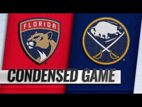 01/03/19 Condensed Game: Panthers @ Sabres