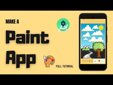 Make a Paint App for Android | Full Tutorial | Android Project