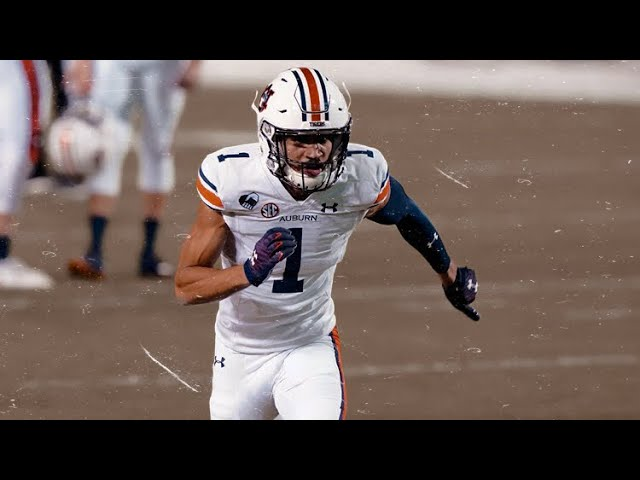 The FASTEST player in the draft || Auburn WR Anthony Schwartz Highlights 🦅 ||