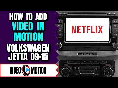 VW Jetta Video In Motion - VolksWagen Jetta DVD Player, VW Jetta DVD Video Player While Driving