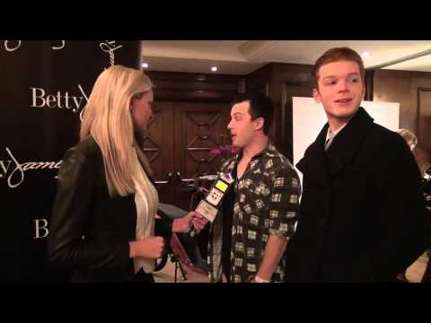 "Noel Fisher & Cameron Monaghan ""Shameless"" at Secret Room Events Red Carpet Style Lounge"