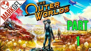 Let's Play The Outer Worlds - Sci-Fi RPG - Part 1