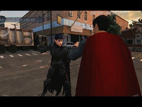 Man of Steel iPad Gameplay - Superman vs Faora