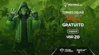 """FREE TORNEO FORTNITE AWARD 20 U$D """"SKULL"""""""