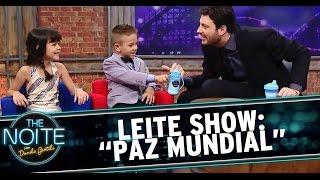 """Leite Show: Crianças falam sobre a """"Paz Mundial"""""""