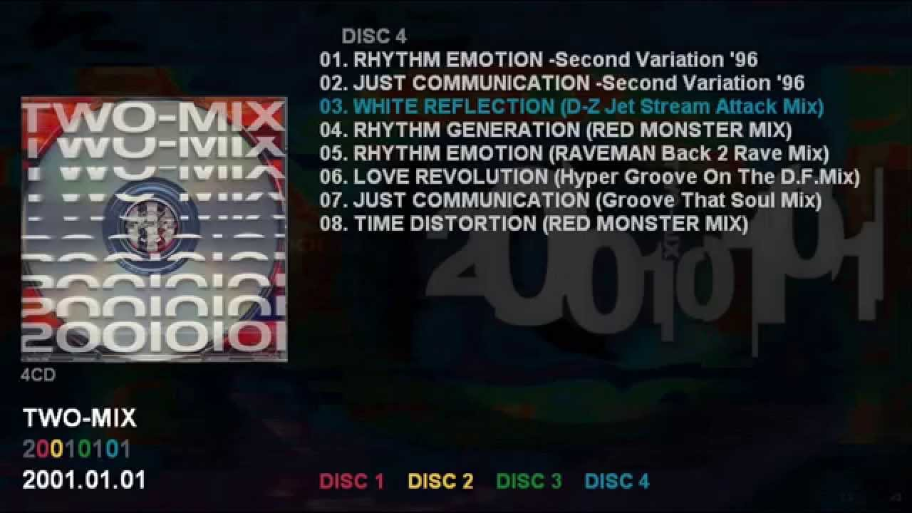 TWO-MIX 「20010101」 (DISC 4) ...