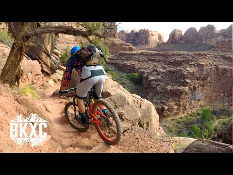 Mountain Biking Captain Ahab in Moab, Utah