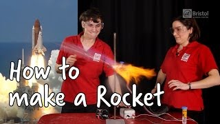 How To Make A Rocket | Do Try This At Home | At-Bristol Science Centre