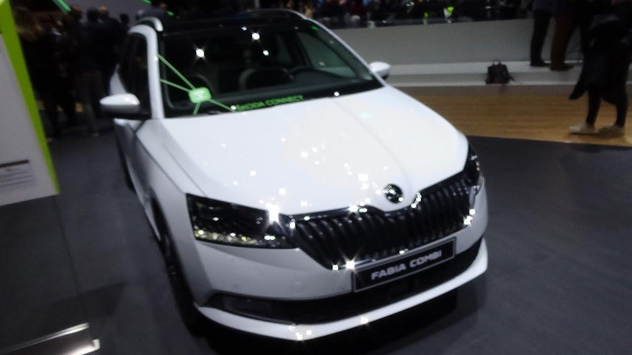 2019 Skoda FL Fabia Combi - Exterior and Interior - Geneva Motor ...