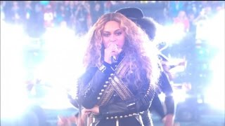 Beyonce Almost Falls During Super Bowl Halftime Show, Recovers Like A Pro
