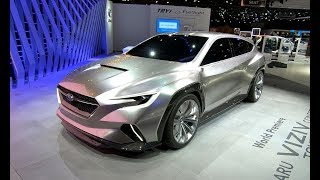 SUBARU VIZIV CONCEPT TOURER WORLD PREMIERE VISION FUTURE STATION WAGON
