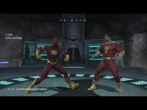 Mortal Kombat Vs DC Universe - All Kombo Challenges