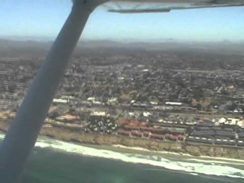 San Diego Beach Flight