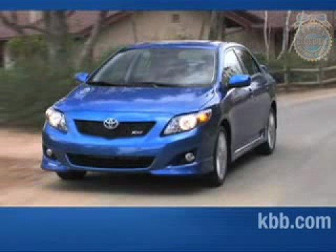 2009 toyota corolla review kelley blue book youtube