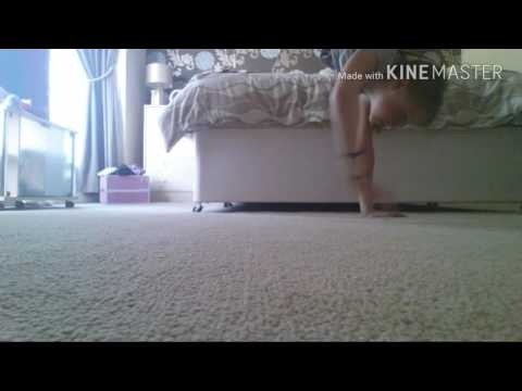 First video - gymnastics at home| Mf007 gymnast