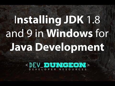 Install multiple JDK in Windows for Java Development   DevDungeon