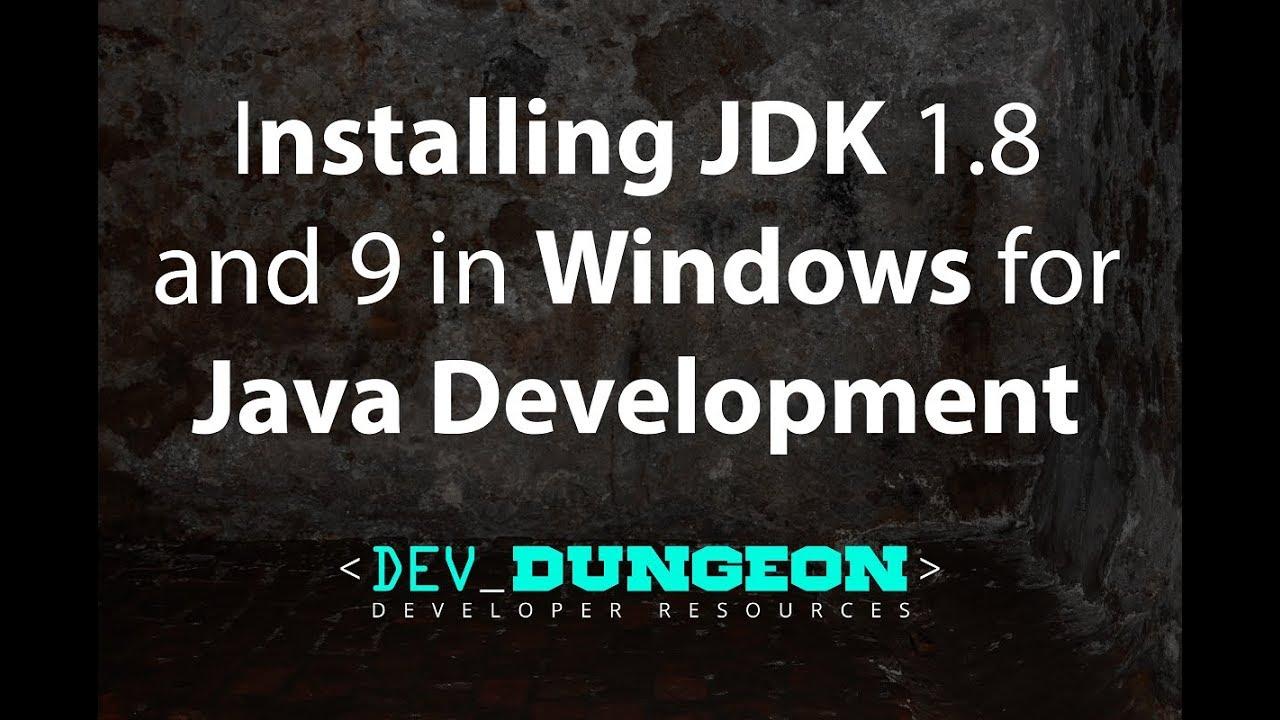 Install multiple JDK in Windows for Java Development
