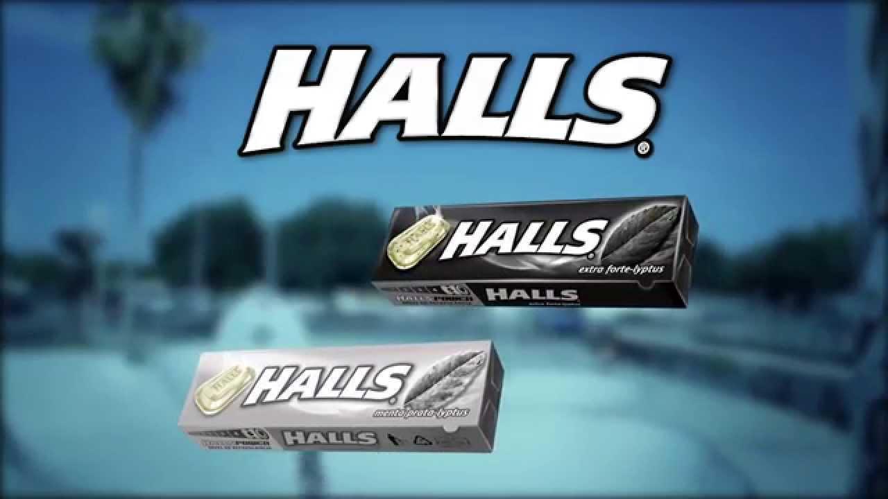 Spot HALLS YouTube