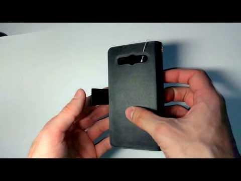 Кожаный чехол для Huawei Ascend G525