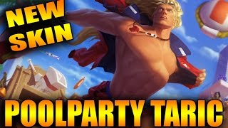 POOLPARTY TARIC - NEW SKINS 2016 SPOTLIGHT PBE - Best Skin ever 2016 German Deutsch