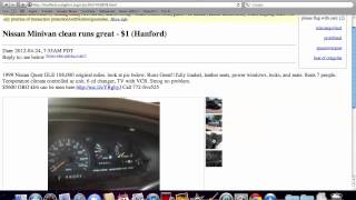 Craigslist Corcoran CA Used Cars - Vehicles Under $1100 Available Online