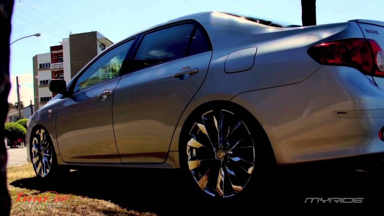 Myride Novo Corolla Com Rodas Aro 20 Youtube