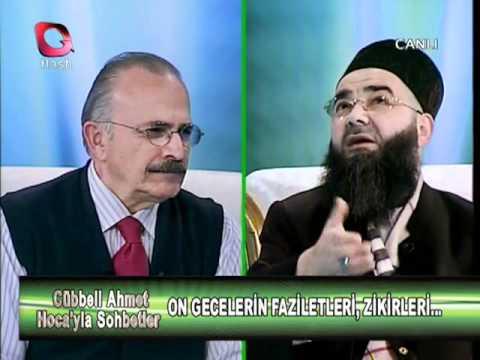 Cübbeli Ahmet Hoca | On Günlerin Faziletleri ve Yapılacak Ameller | 28 Ekim 2011