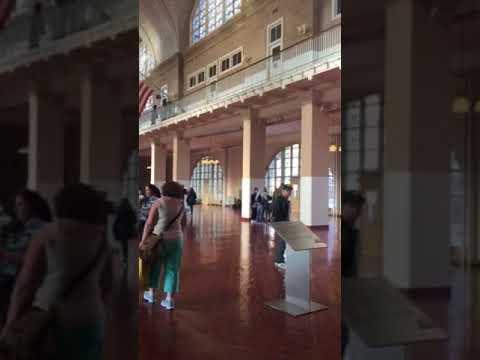 Ellis Island Immigration Museum March 2016