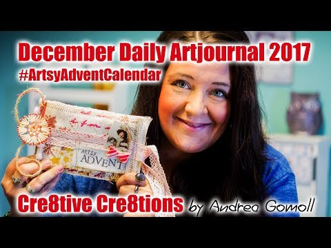 Artsy Advent Calendar 2017 - December Daily Artjournal: The Journal