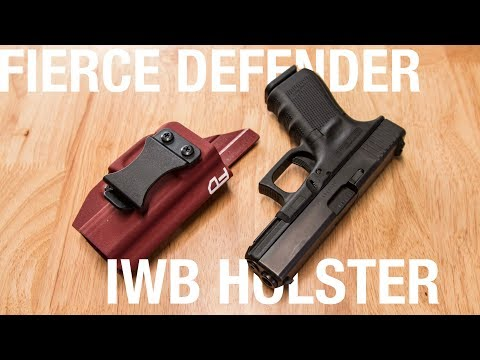 Is This The $35 Holster You've Been Looking For? - Fierce Defender Kydex Holster