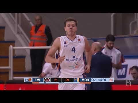 ABA Liga 2018/19 highlights, Round 10: FMP - Mornar (8.12.2018)