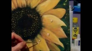 How to paint Dew Drops with acrylic paint Step by Step