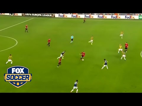 This goal against Man United is outrageous