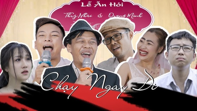 Phim ca nhạc CHẠY NGAY ĐI - TRUNG RUỒI, MINH TÍT, THƯƠNG CIN - MV PARODY