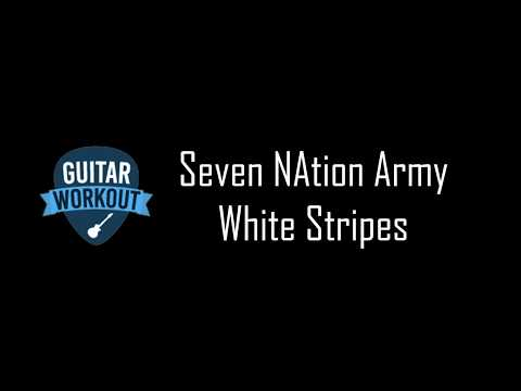 Seven Nation Army- White Stripes - Guitar Karaoke