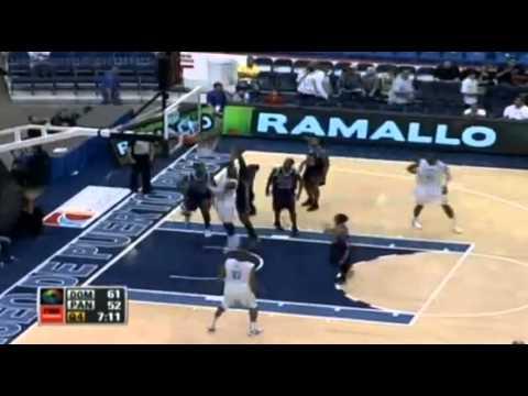 Centro Basket Masculino 2012 Republica Dominicana 79 vs Panama 62