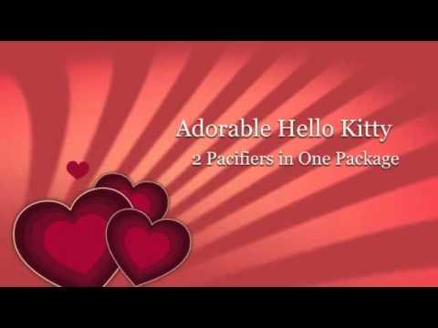 NUK HELLO KITTY PACIFIERS BY NUK USA LLC ROCK!