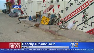 Homeless Man Killed In Venice Hit-And-Run