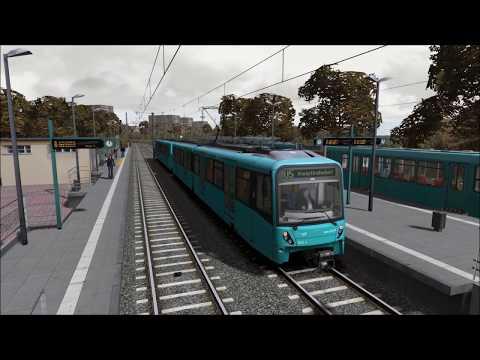 #42 [Train Simulator] U-Bahn Frankfurt #06 |Game Scenarios|