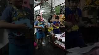 Thầy Cô Cho Em Mùa Xuân - Nhóm Ukulele tại LỚP NHẠC BẢO TRÂN  20/11/17