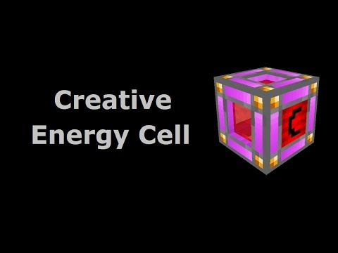 Creative Energy Cell (Tekkit/Feed The Beast) - Minecraft In
